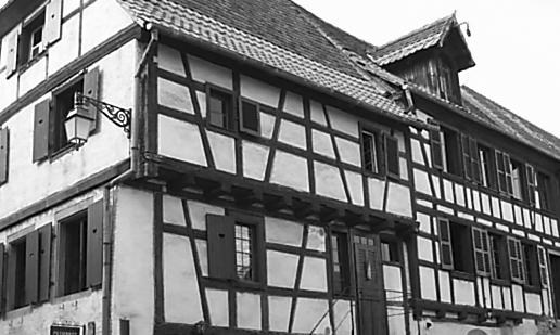 maison alsacienne du XVIIIème siècle