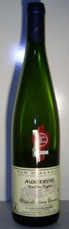 Auxerrois Vieilles Vignes 2011